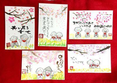 桜とお地蔵さん_全作品